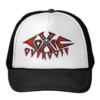 Toxic Overdose red logo truckerhat Cap