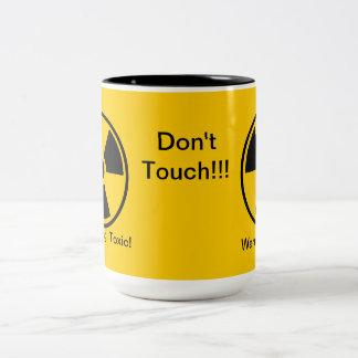 Toxic! Warning! Don't Touch mug