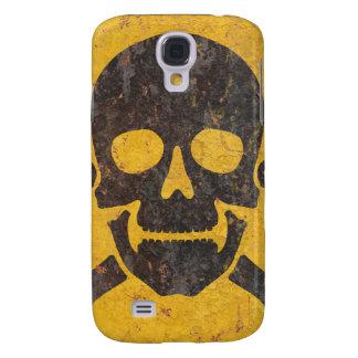 Toxic Warning Sign Galaxy S4 Case