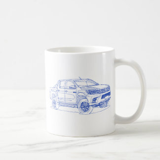 Toy Hilux 2016 Coffee Mug