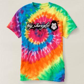 Toy Jungle Men's Spiral Tie-Dye T-Shirt