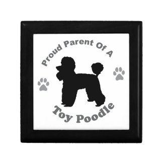 Toy Poodle Gift Box