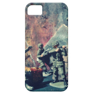 Toy soldier war scene phone case