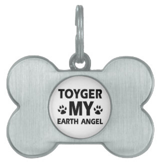 TOYGER cat design Pet ID Tags