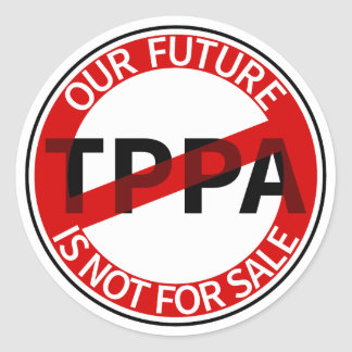 TPPA ROUND STICKER