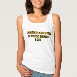 TRACK AND FIELD OLYMPIC GAMES 2016 SINGLET