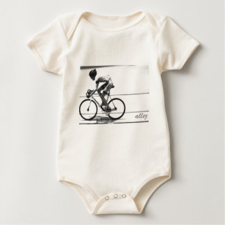 Track Cyclist Baby Bodysuit