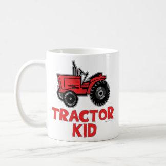 Tractor Kid Coffee Mug