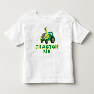 Tractor Kid Toddler T-Shirt