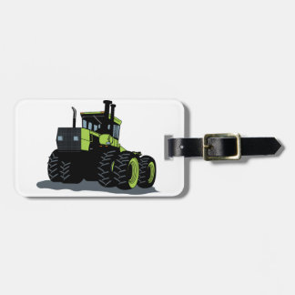 Tractor Luggage Tag