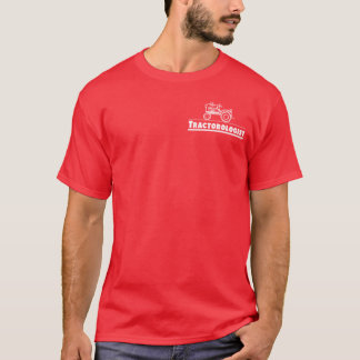 Tractor Ologist RED T-Shirt