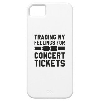 Trading My Feelings For Concert Tickets iPhone 5 Cases