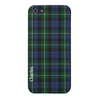 Traditional Campbell Clan Tartan Plaid iPhone 5/5S Case