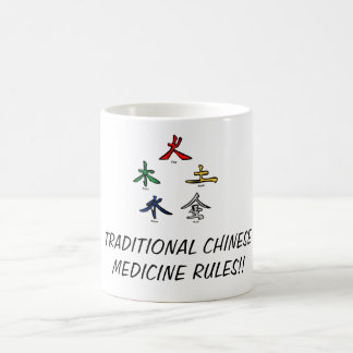Traditional Chinese Medicine Coffee Mug