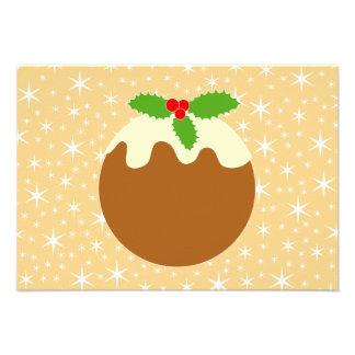 Traditional Christmas Pudding. Invites