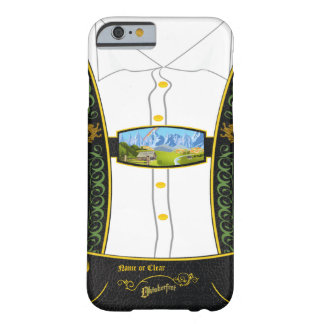 Traditional Germany Bavarian Lederhose Barely There iPhone 6 Case