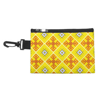 Traditional Slavonic Ornaments Sueded Mini Clutch