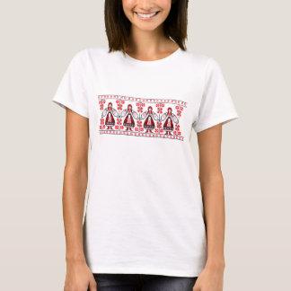 Traditional Ukrainian embroidery ukraine girls T-Shirt