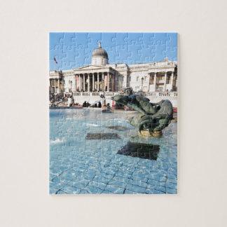 Trafalgar Square in London, UK Jigsaw Puzzle