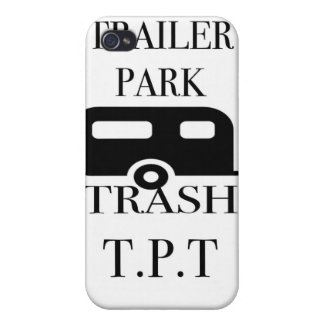 Trailer Park Trash Covers For iPhone 4