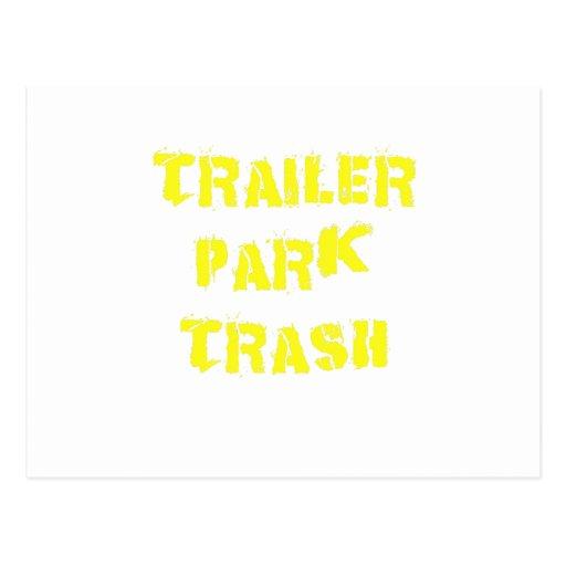 Trailer Park Trash Post Card