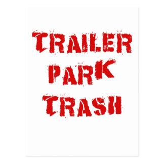 Trailer Park Trash Postcard