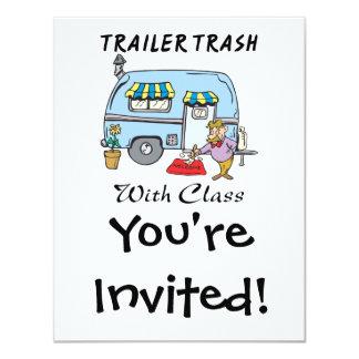 trailer park trash with class custom invite