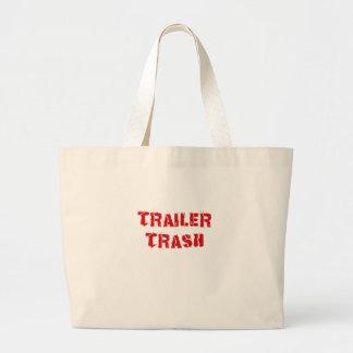 Trailer Trash Canvas Bags