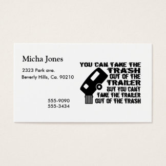 Trailer Trash Business Card