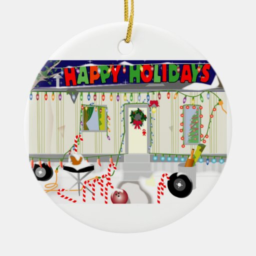 Trailer Trash Christmas 2011 ornament