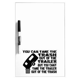 Trailer Trash Dry-Erase Whiteboard