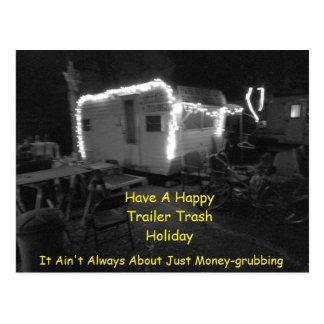 Trailer Trash Holiday EDL121015 Postcard