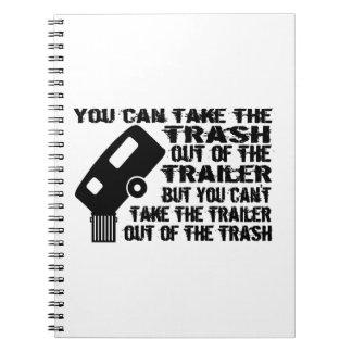 Trailer Trash Note Book