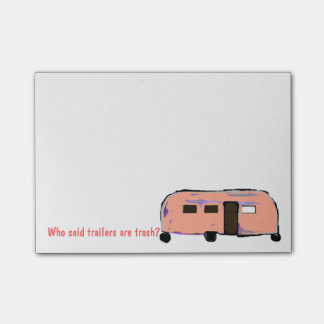 Trailer Trash Post-it® Notes