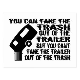 Trailer Trash Postcard
