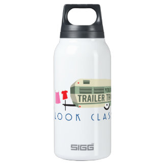 Trailer Trash 10 Oz Insulated SIGG Thermos Water Bottle