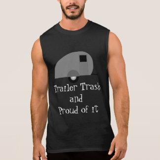 trailer trash sleeveless t-shirts