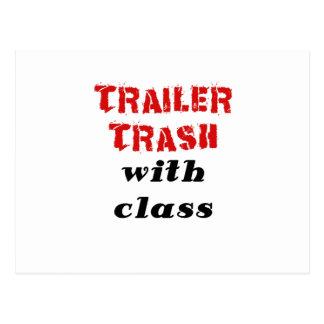 Trailer Trash with Class Postcard