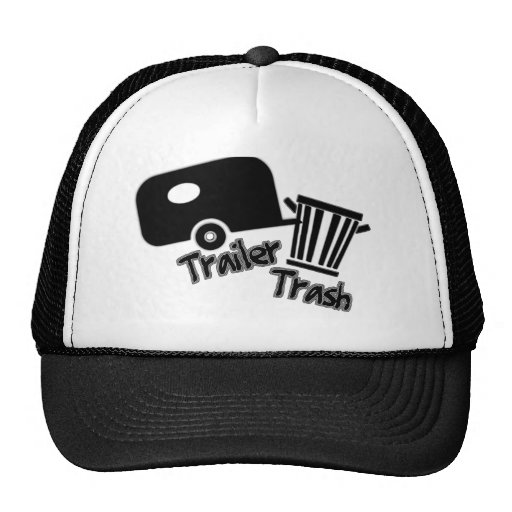 Trailerpark Living!  Funny Trailer Trash Icons Mesh Hat