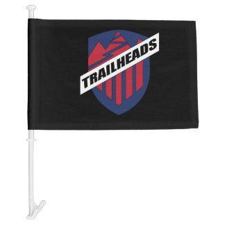 Trailheads Car Flag