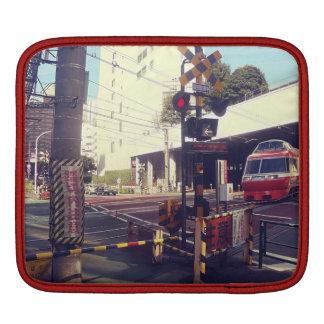 Train Crossing Japan ipad case iPad Sleeve