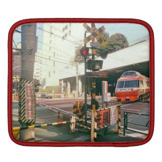 Train Crossing Japan Ipad Sleeve