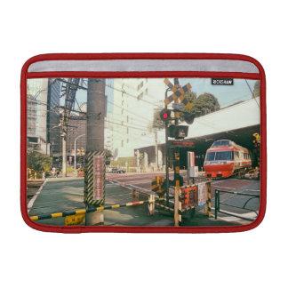 Train Crossing Japan laptop Sleeve MacBook Air Sleeve