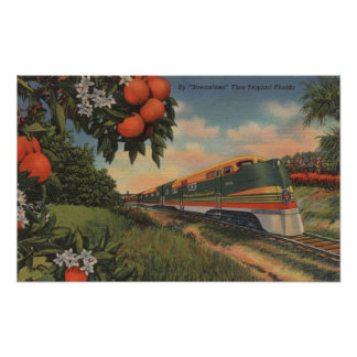 Train- Orange Blossom Special Poster