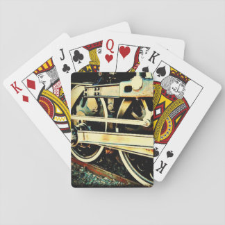 Train Wheels Playing Cards