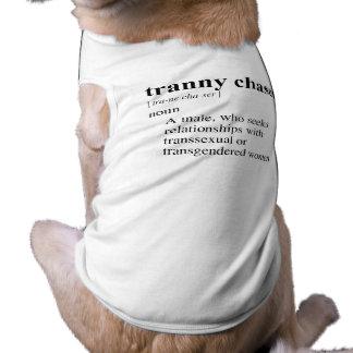 TRANNY CHASER DOGGIE TEE SHIRT