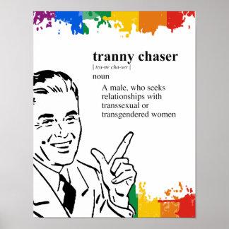 TRANNY CHASER POSTER
