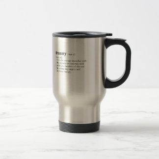 TRANNY (definition) Stainless Steel Travel Mug