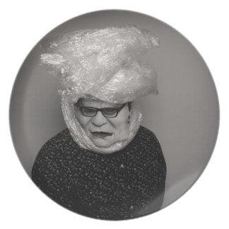 tranny granny plate