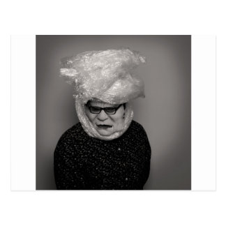 tranny granny postcard